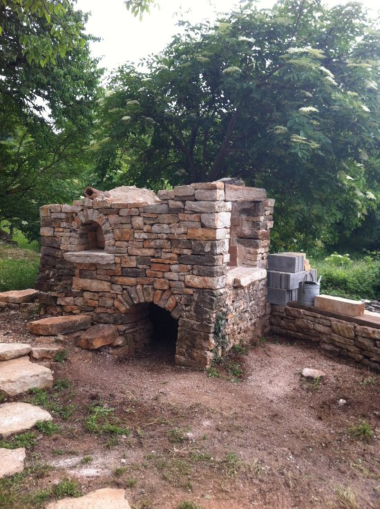 BBQ slash wood fired oven – stage 4
