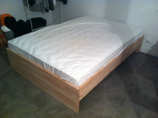Bed after