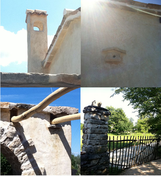 Details from some of Branko Orbanić's houses