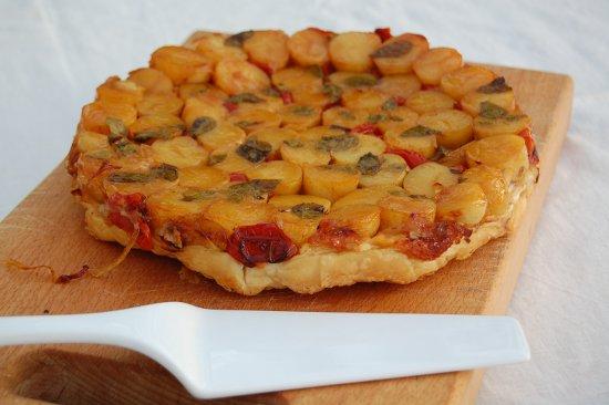 Yotam Ottolenghi's potato tart