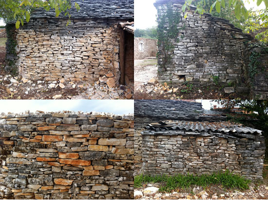Drystone walls textures – all in Lovrinići