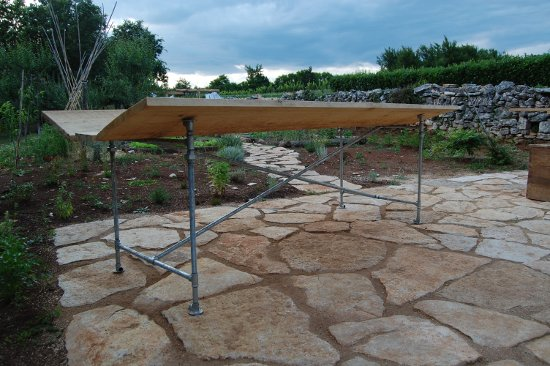 Pergola table – very proud of this one