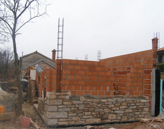 Eastern wall – 19 January 2012