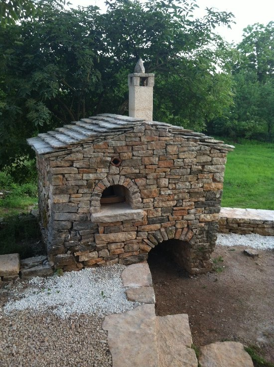 Bread oven – finished