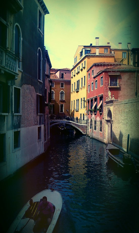 Venice is only one hop away