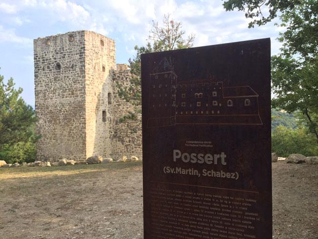Possert, Istria